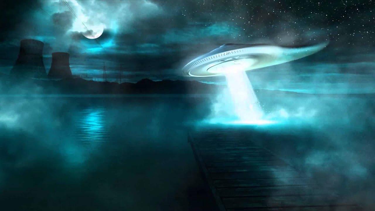 UFO Alien Animated Wallpaper Http://www.desktopanimated