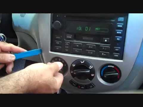 How to Suzuki Reno car Stereo Removal 2005  2008 replace repair  YouTube