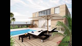 Villa Made Of 4 Shipping Containers, LIAB Sustainable Homes