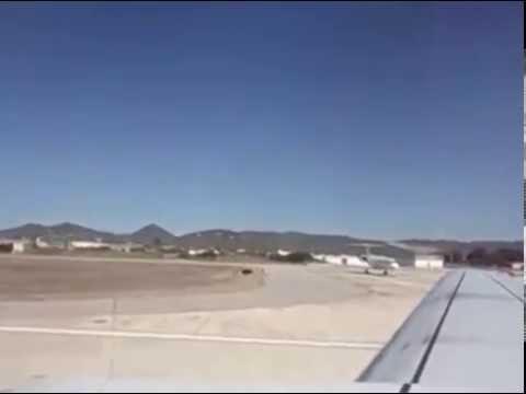 Ibiza to Leeds Bradford in 2 minutes-Jet2.com LS198 Boeing 737-300