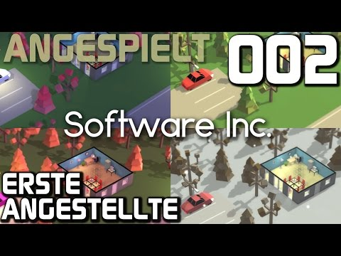 Let's Play Software Inc. #002 Software Tycoon Angespielt! |