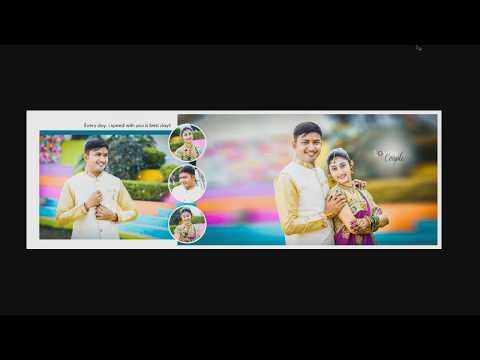Adobe Photoshop CC - Wedding Album Mixing Page 12X36