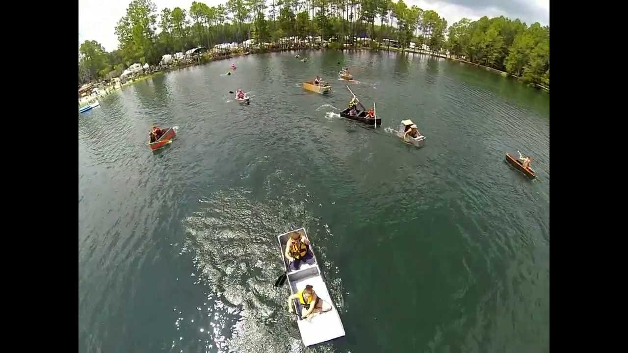 Flamingo Lake Rv Boat Races 2013 Aerial Footage In Hd