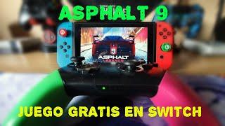 ASPHALT 9 EL MEJOR JUEGO GRATUITO DE NINTENDO SWITCH