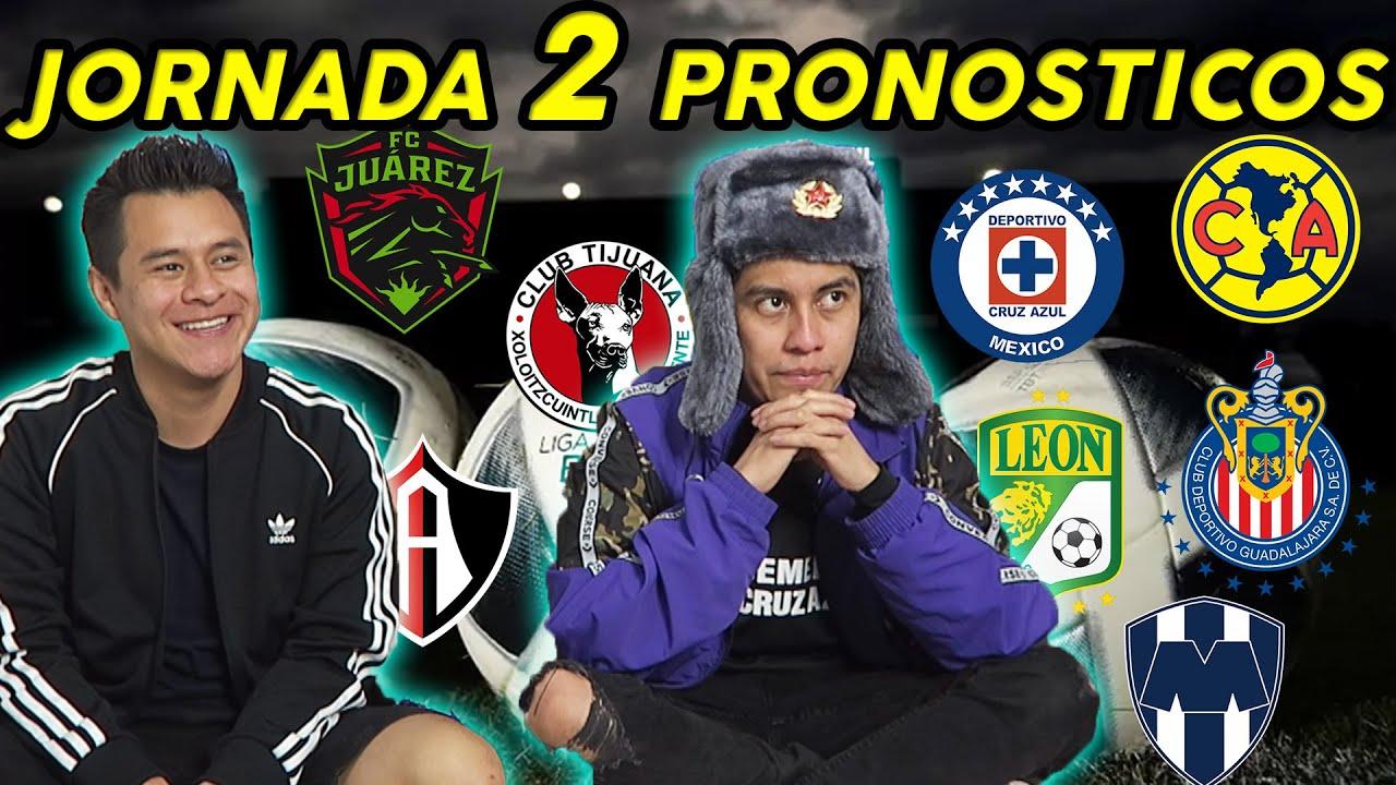 PRONÓSTICOS JORNADA 2 | Apertura 2021 LIGA MX