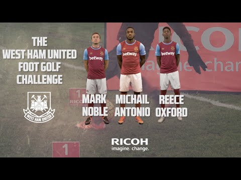 RICOH FOOT GOLF CHALLENGE ft. Noble, Antonio and Oxford