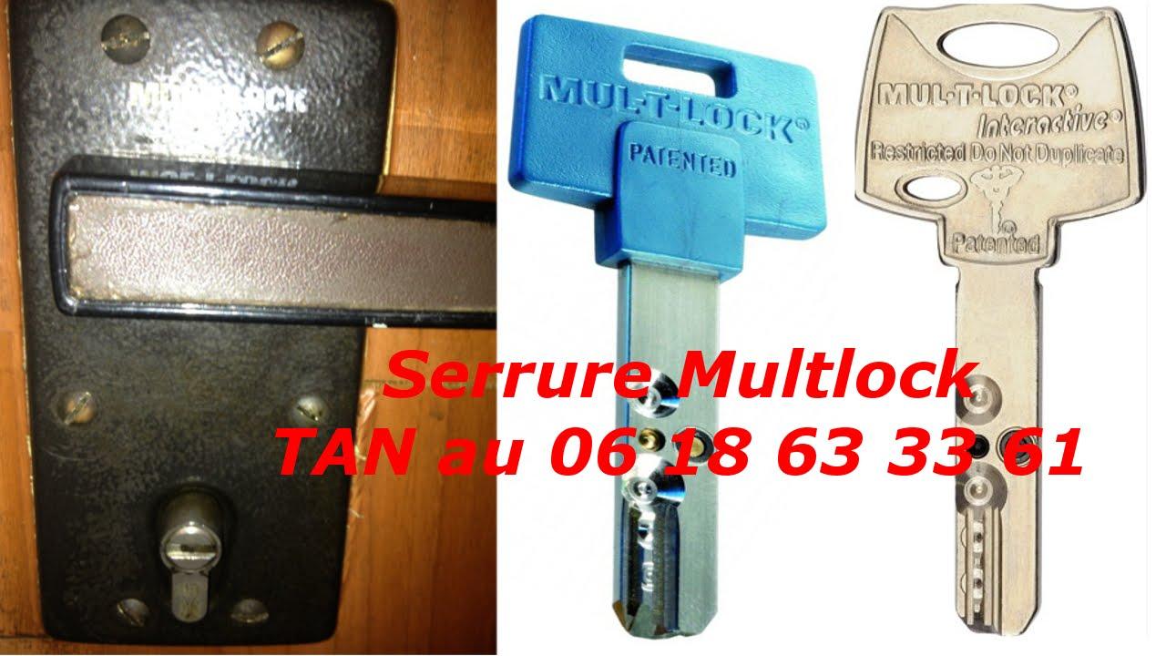 TUTO comment changer une serrure multlock? serrure mul-t-lock pas ...