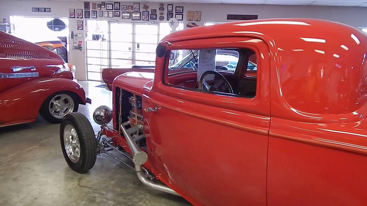 1932 Ford Three Window Roadster From Lone Star Muscle Cars