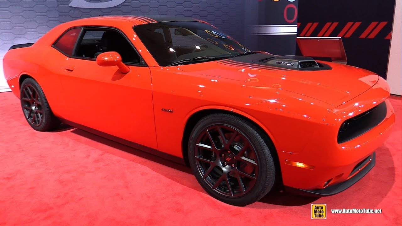 2018 Dodge Challenger Rt Plus Shaker Exterior And Interior Walkaround 2017 La Auto Show