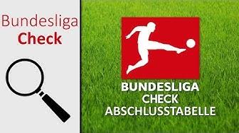 Bundesliga Check 2019 | Abschlusstabelle (Folge 19)