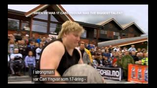 Worlds strongest Powerlifter Carl Yngvar Christensen