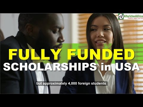 Top 10 Fully Funded Scholarships In USA For International Students | Top 10 Series