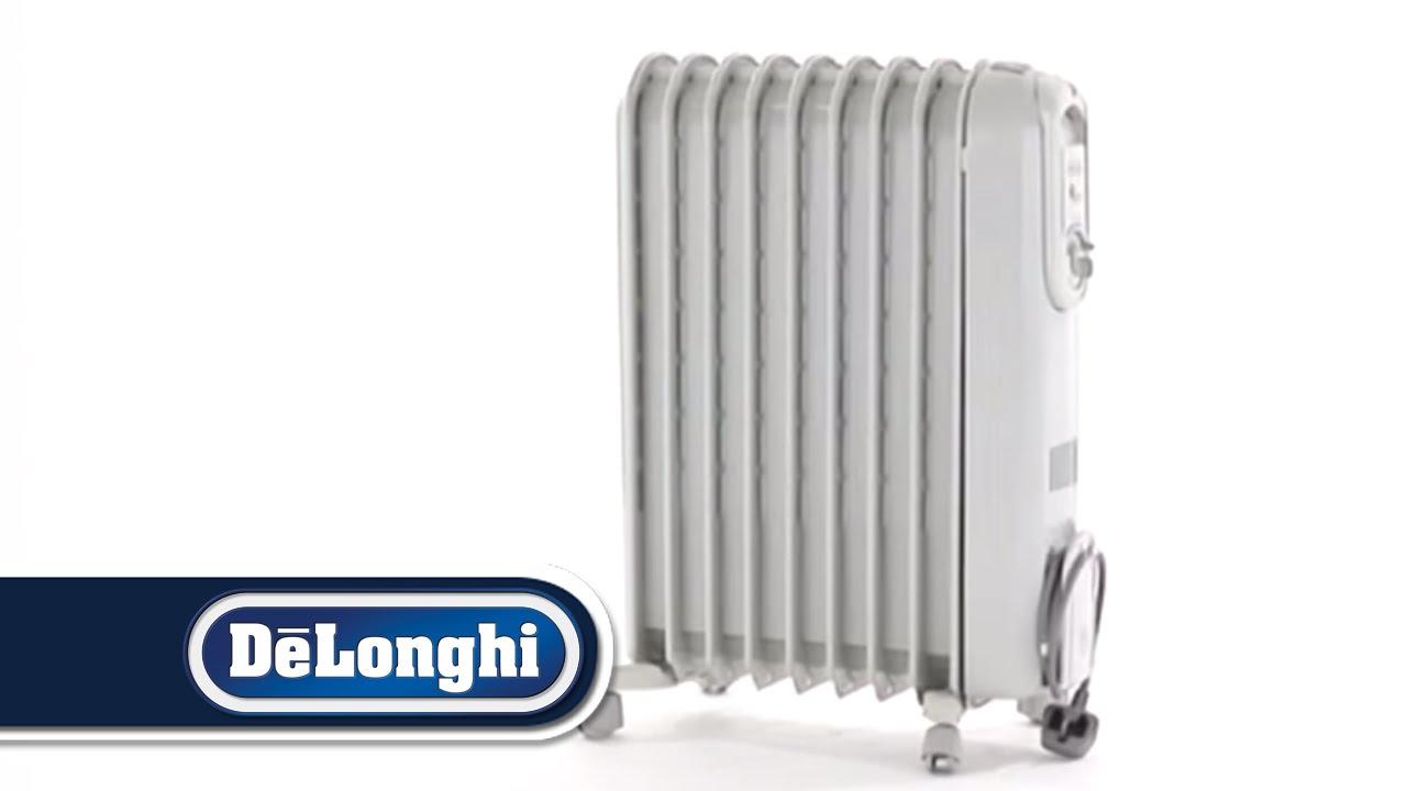 Delonghi safe heat oil filled radiator - Delonghi Vento Oil Filled Radiator Vv550920