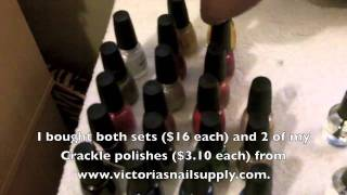 nail polish haul storage wet n wild fast dry review