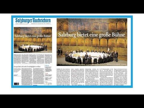 Salzbourg au centre la scène européenne