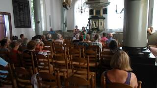 Urk Zingen in de zomer 1 augustus 2014