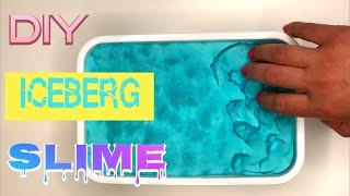 DIY Iceberg Slime | Shaving Foam Slime | Satisfying ASMR Slime Video