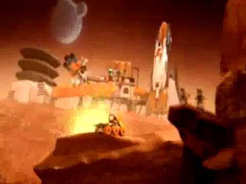 LEGO Mars Mission - Command Base - YouTube