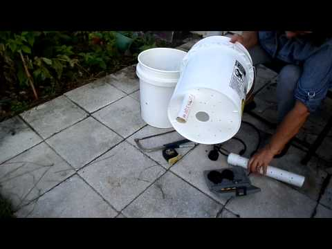 5 gallon self watering garden bucket upated 8 2015 youtube Self watering 5 gallon bucket garden