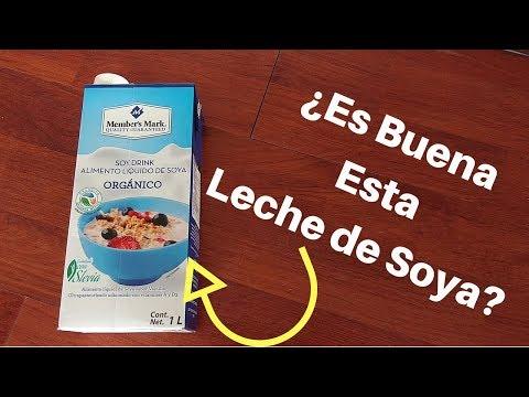 qué vitaminas tiene la leche de soja