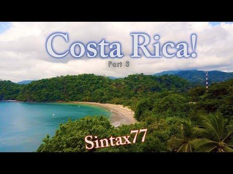 Costa Rica Pt 3 - Pacific Coast Beach Day & Casados at a Soda