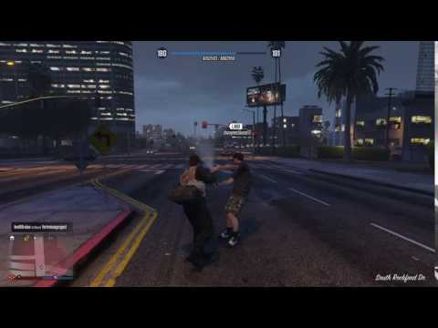 GTA V Online Knockout Punch With Brass Knuckles