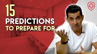 15 Pre-Election Predictions