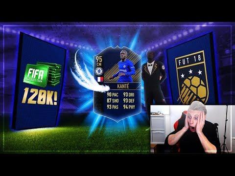FIFA 18: Ich habe KANTE TOTY (95) gezogen 😍🔥 Das BESTE Pack meines Lebens 😳 1000€ Pack Opening