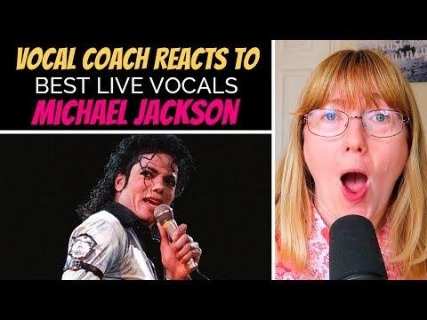 Vocal Coach Reacts To Michael Jackson Best LIVE Vocals (No Autotune)