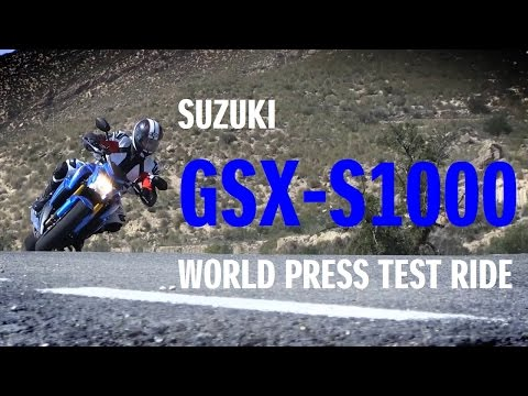 GSX-S1000 World Press Test Ride