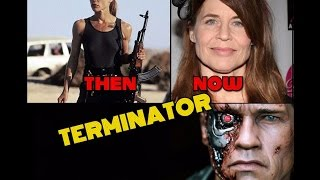 The Terminator. Actors then and now.
