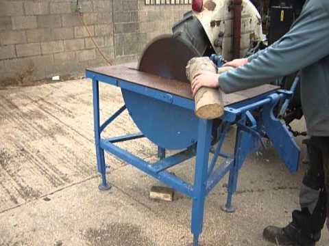 tractor mounted saw bench 2