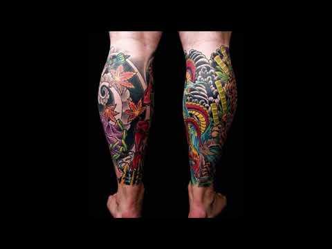 Top 50 Best Calf Tattoos