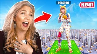 MY MOM TROLLED ME IN FORTNITE...