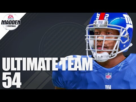 Madden 17 Ultimate Team - 99 Overall Michael Strahan Ep.54