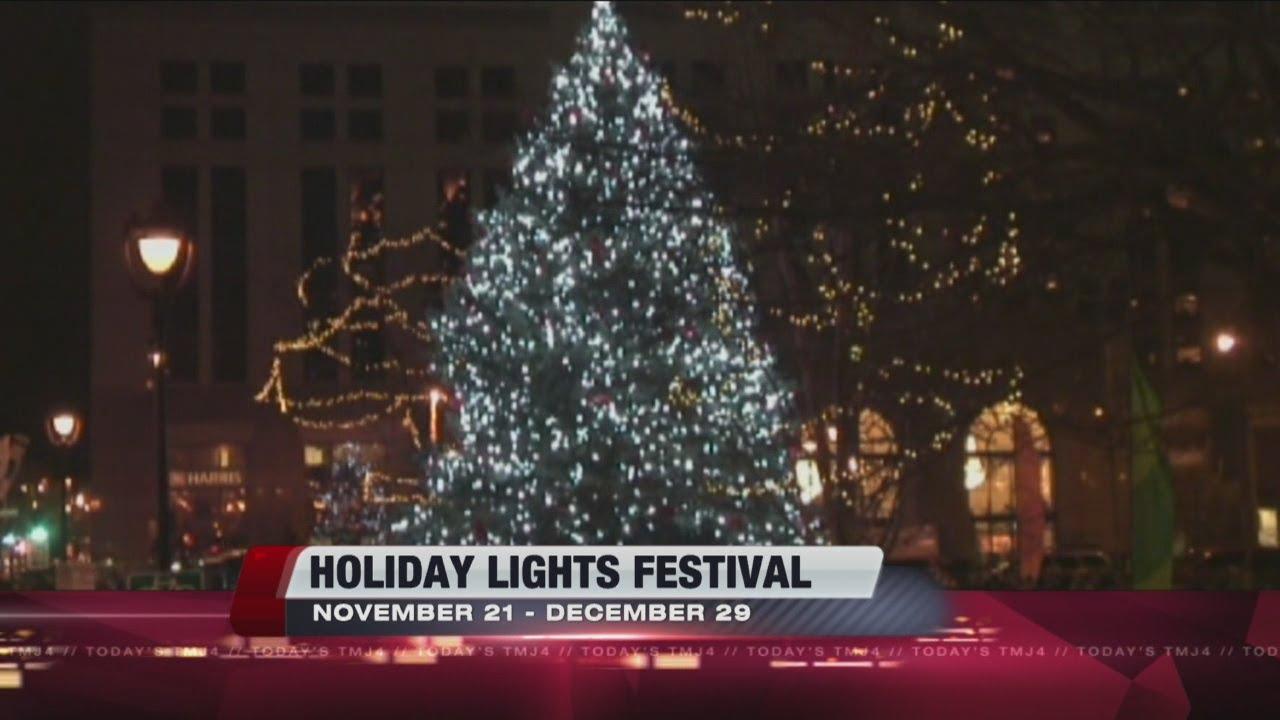 milwaukee holiday lights festival 2013