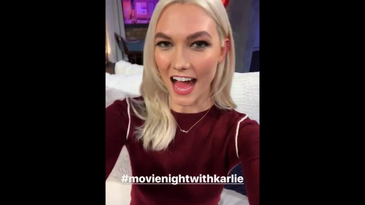 Karlie Kloss Instagram story - October ...