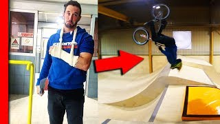HOW I BRAKE MY HAND... (fail bmx)