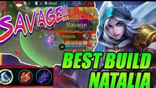 NATALIA SAVAGE & best Build nya