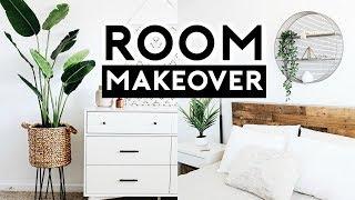 BEDROOM MAKEOVER + TARGET HACKS 2019 | Nastazsa
