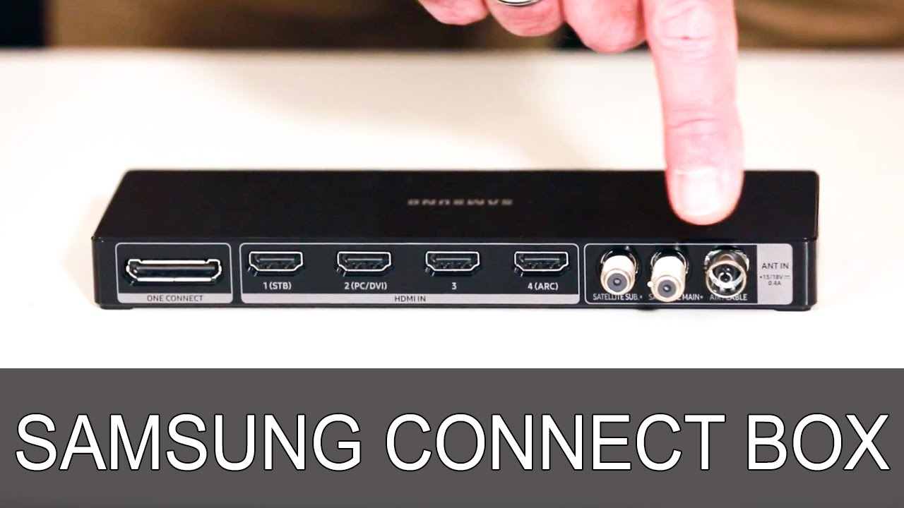 Samsung Connect Box Thomas Electronic Online Shop Youtube
