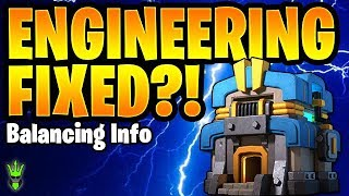 SUPERCELL FIXES ENGINEERING! TH12 UPDATE BALANCING CHANGE INFORMATION - Clash of Clans