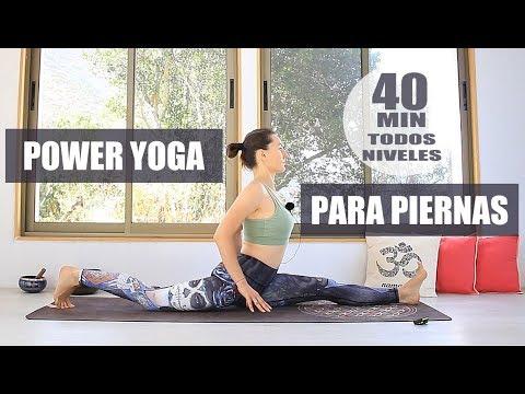 POWER YOGA - piernas flexibles, hanumanasana 40 min | MalovaElena