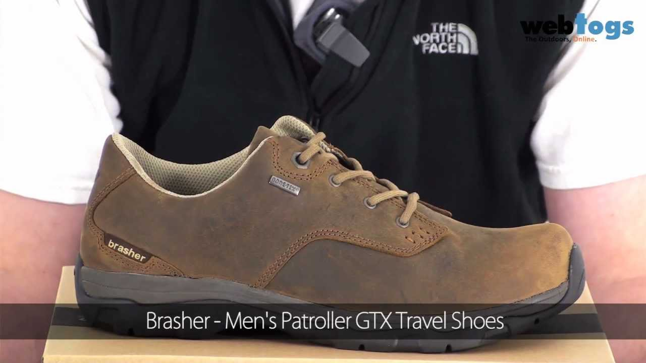 a3073a3931c6e Brasher Men's Patroller GTX shoes - Smart casual shoes for town or ...