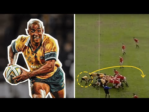 George Gregan was DIFFERENT CLASS