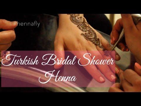 Selma's Turkish Bridal Shower Henna | April 4th, 2015 | Hennafly