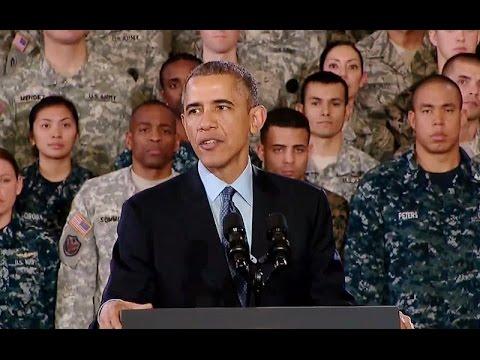 President Obama Delivers Remarks at Joint Base McGuire-Dix-Lakehurst