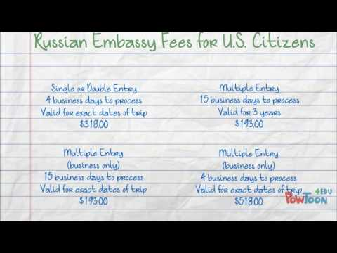 Tips for Getting Your Russian Travel Visa - Texas Tower 24