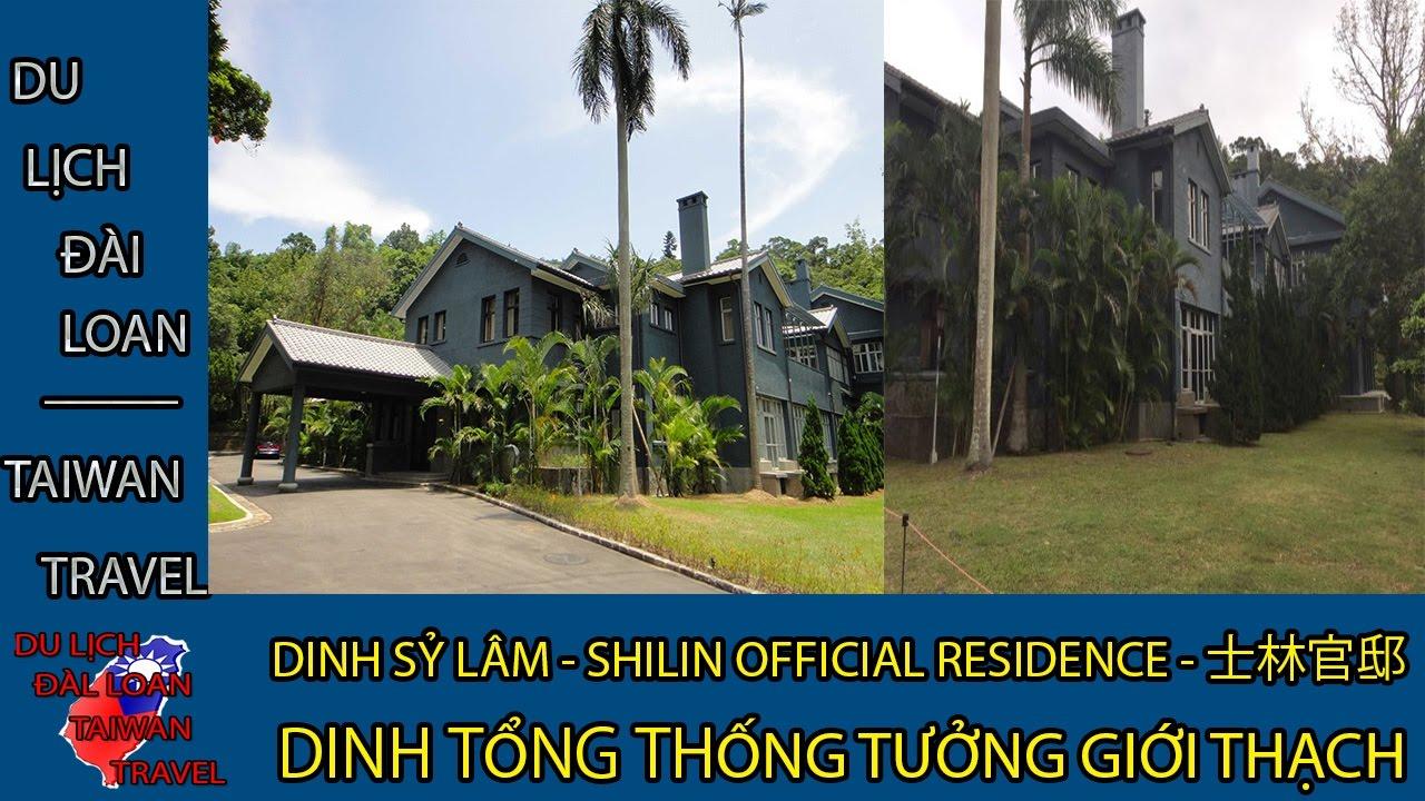 Du lịch Đài Loan - Taiwan travel:DINH SỶ LÂM - SHILIN OFFICIAL RESIDENCE - 士林官邸 TẬP 20