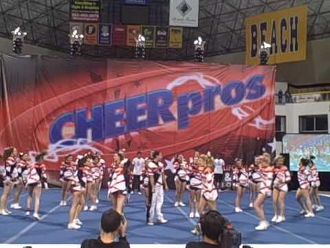 Rockstar Athletics Small Coed Level 6 @ CheerPros State Championship 2010